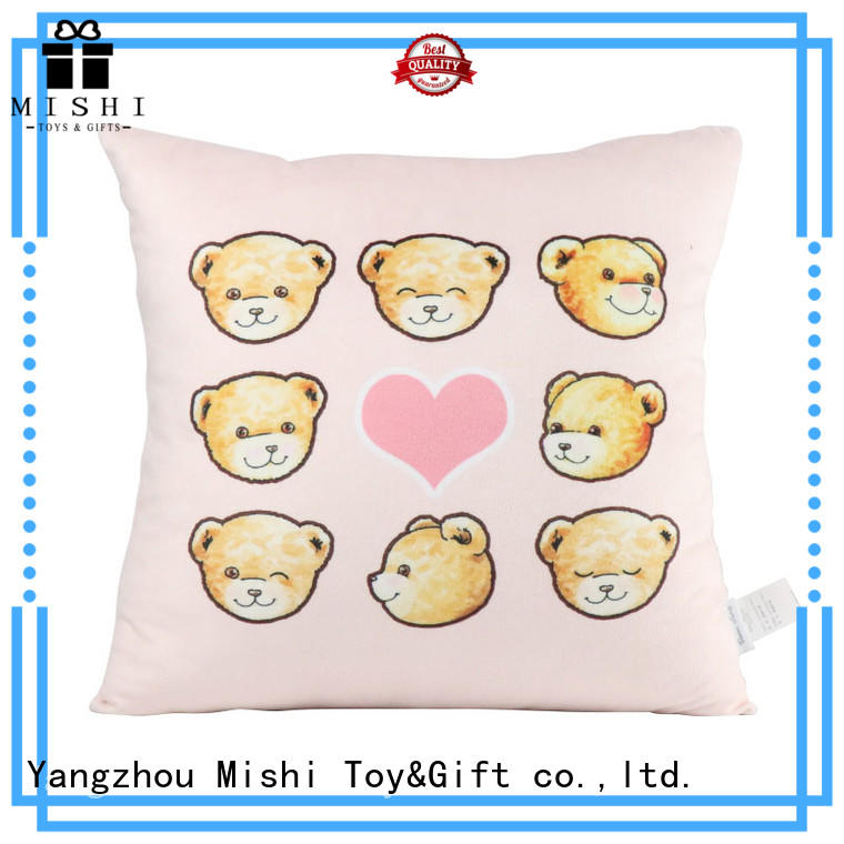 Mishi plush cushions manufacturers for prasents