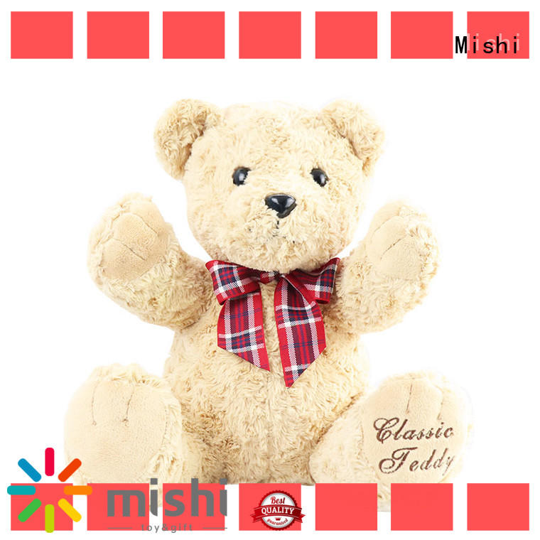 Mishi high-quality cheap plush toys with t shirts for gifts