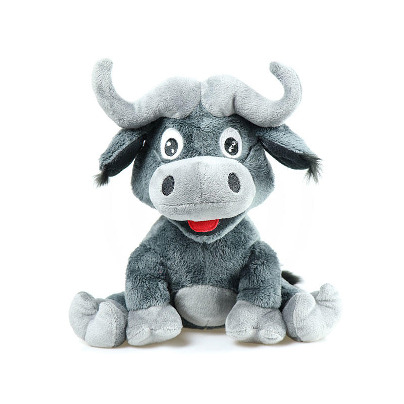 Soft Stuffed Bull Plush Toy Wholesale With Custom Logo