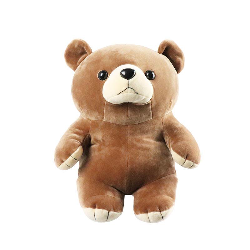 ソフトカスタムぬいぐるみクマのおもちゃ卸売ロゴ供給