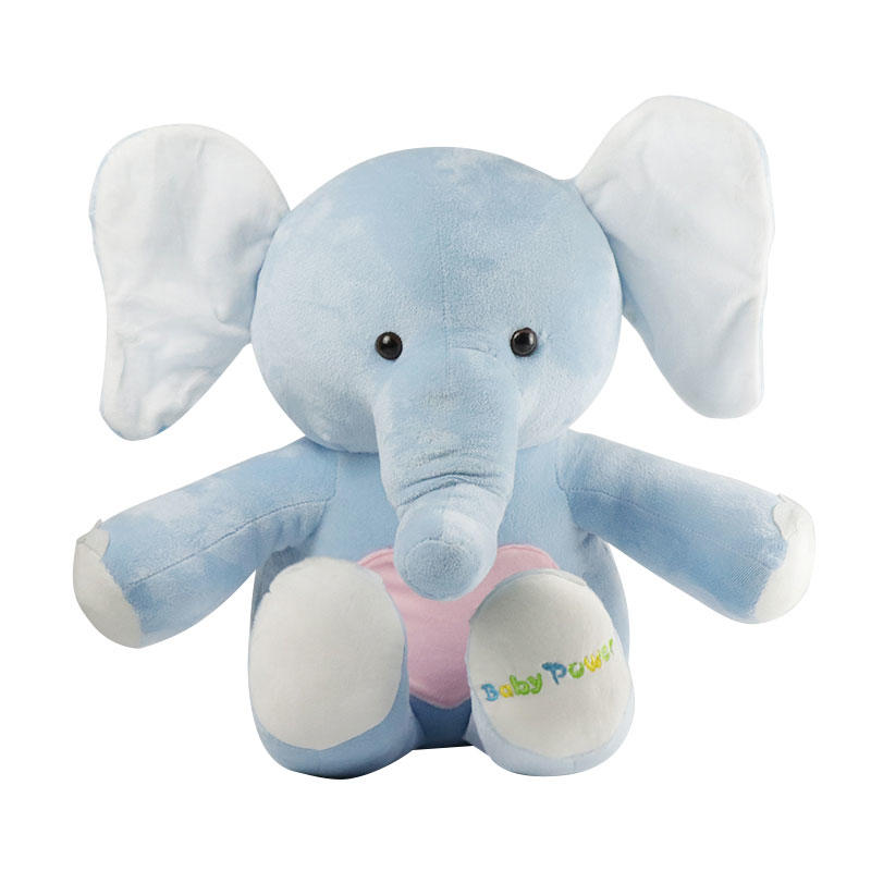 Soft Plush Stuffed Elephant Plush Toy Wholesale With Custom Logo