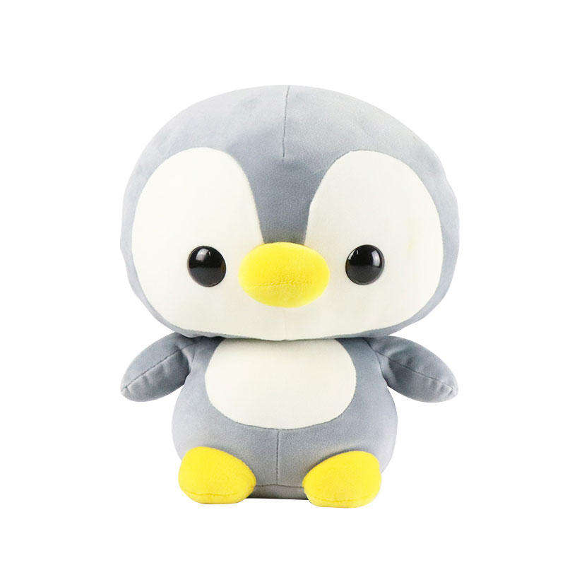 Soft Cartoon Penguin Plush Toy With Custom Logo Supply