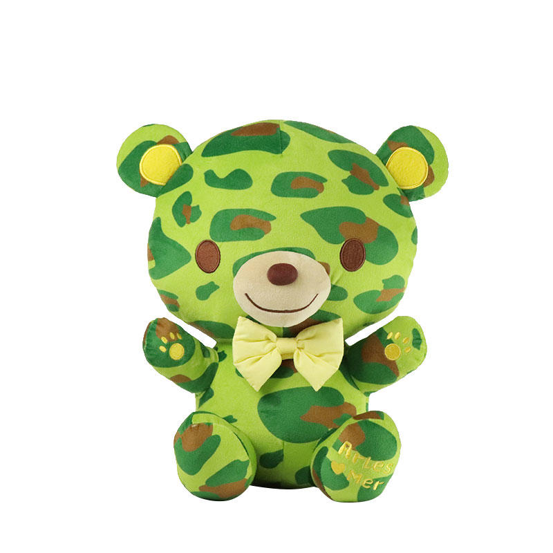 Wholesale Stuffed Animal Bear Plush Toy With Custom Logo