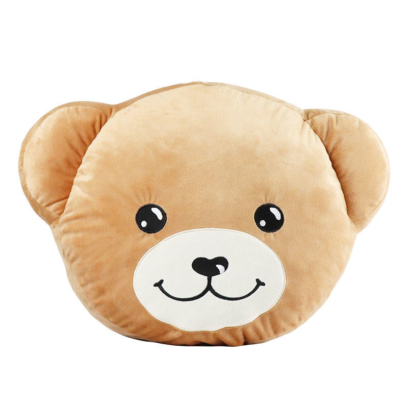 Custom Teddy Bear Plush Toy Cushion With Logo Supply