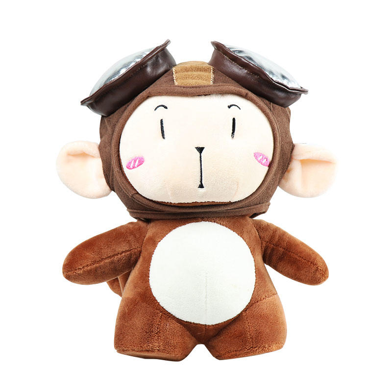 Soft Cartoon Stuffed Monkey Plush Toy Wholesale