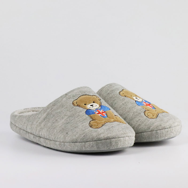 Mishi wholesale custom plush slipper supply for business-1