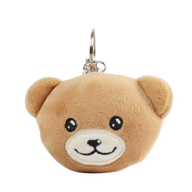 Pendant Custom Plush Bear Keychain Wholesale With Logo