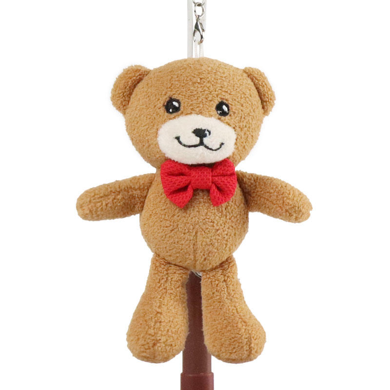 Custom Plush Teddy Bear Keychain Wholesale With Logo