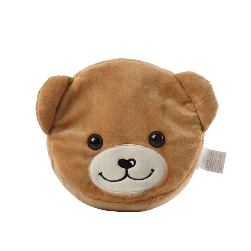 Custom Plush Bear Coin Purse Wholesale With Logo