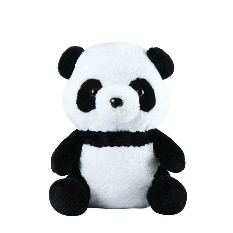 Custom Panda Plush Toy Wholesale With Logo Hooded Clothes