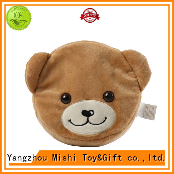 Mishi pendant plush coin purse with custom logo for business