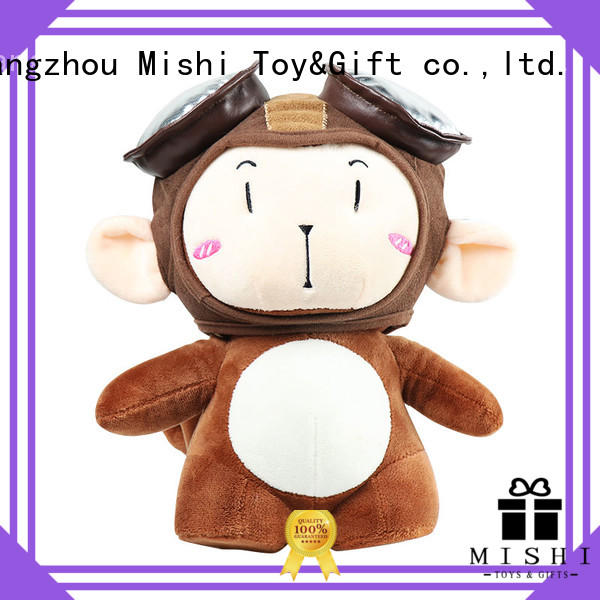 Mishi funny plush toys factory for kids