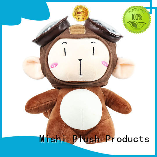 Mishi personalized plush toys supply for gifts