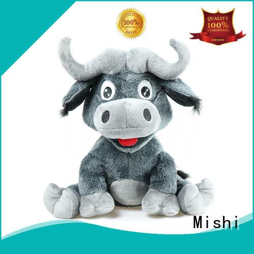 Mishi corgi unique plush toys with custom logo for sale