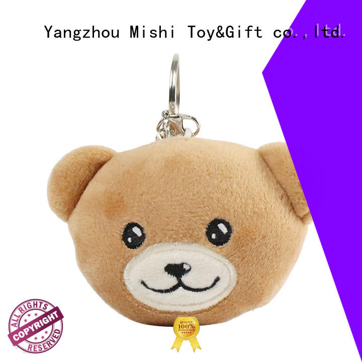 Mishi plush toy keychain suppliers for gifts