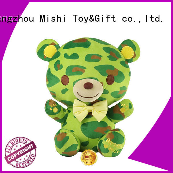 Mishi plush toy with hoodies for kids