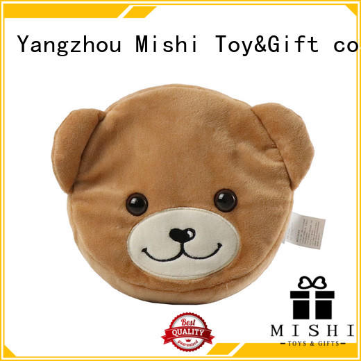 Mishi plush coin purse manufacturers for prasents
