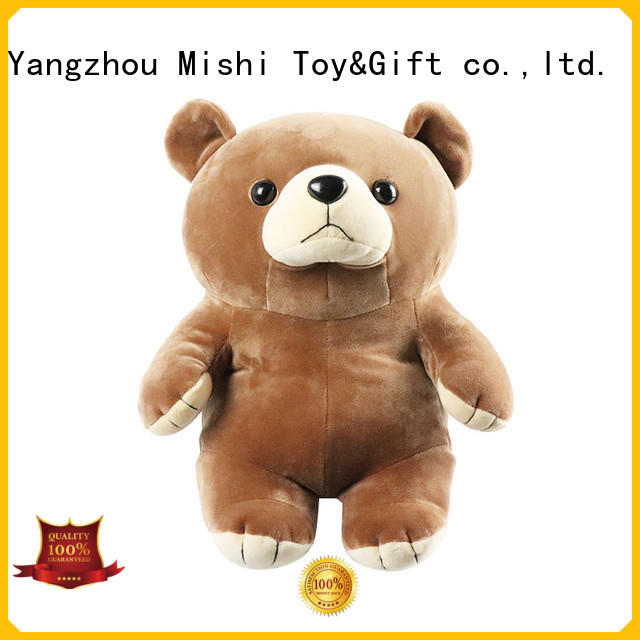 Mishi cute plush toys with t shirts for gifts