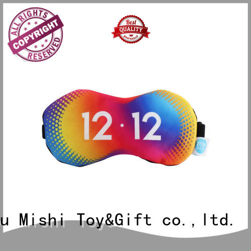 Mishi eye mask with logo for business