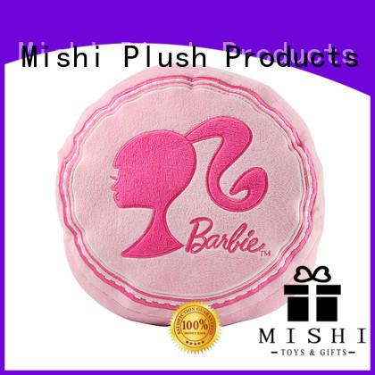 Mishi custom plush cushion hand warmer for living room