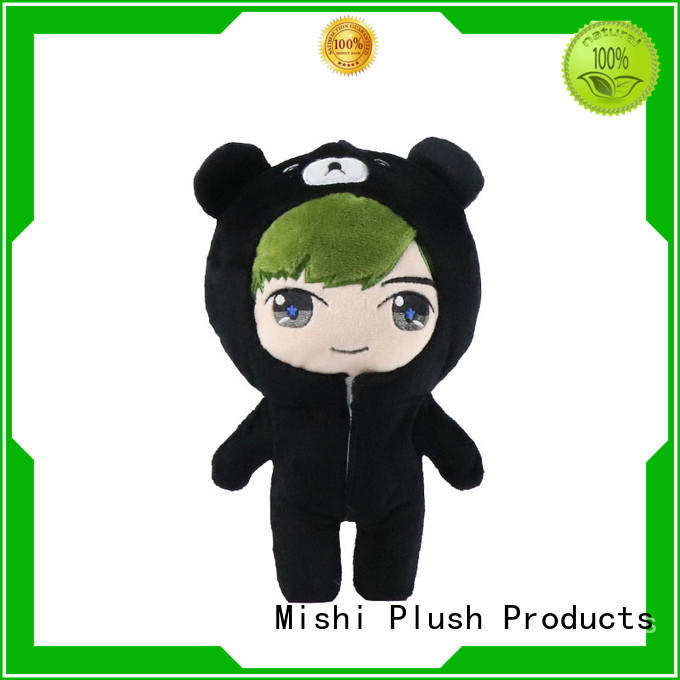 Mishi best plush toys with t shirts for business