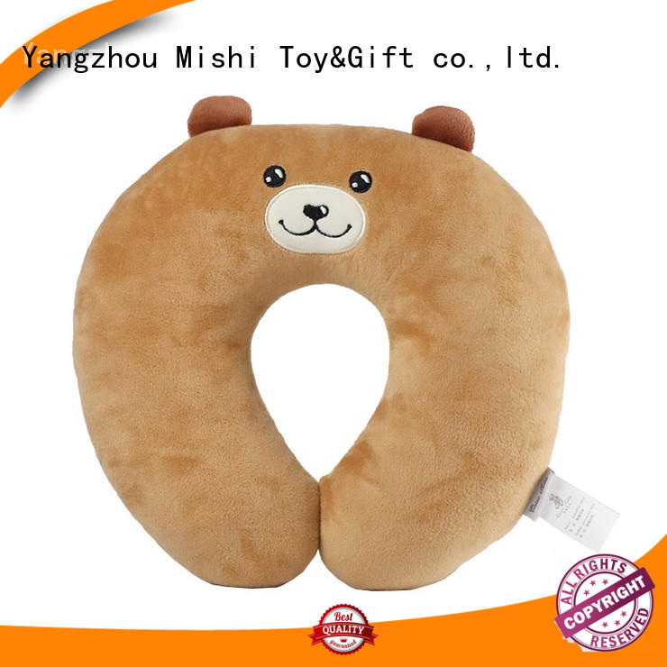Mishi hot sale fluffy neck pillow factory for sale