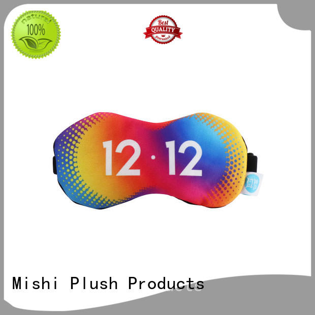 Mishi eye cover mask with custom printing for business
