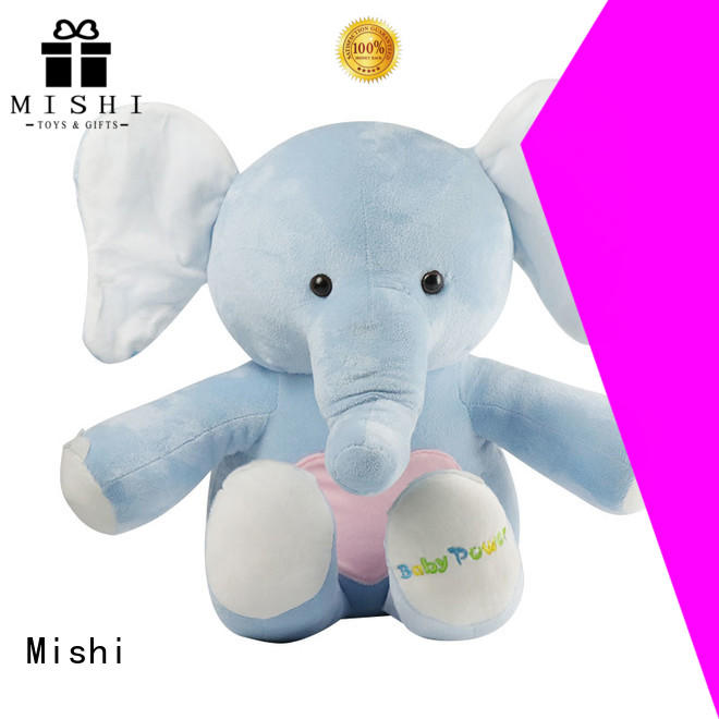 Mishi funny plush toys with custom logo for sale