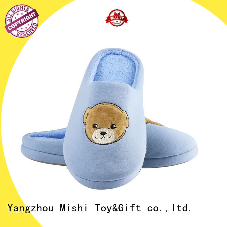 Mishi indoor best plush slippers manufacturers for sale