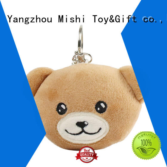 high-quality cute plush keychains suppliers for gifts