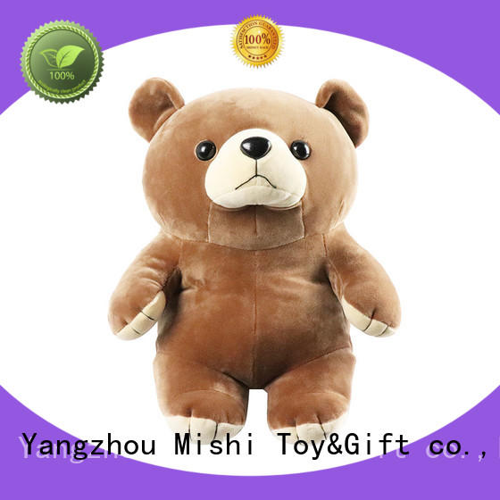 Mishi plush toys with custom logo for gifts