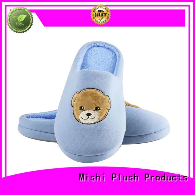 top custom plush slipper factory for home