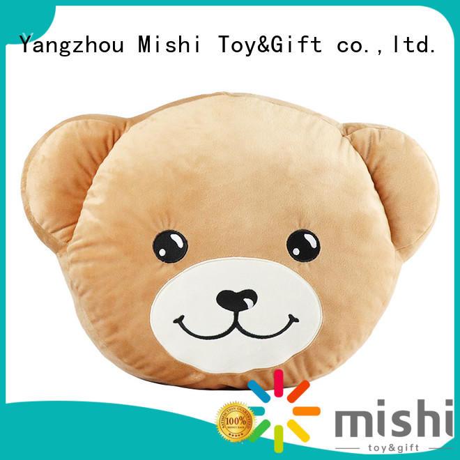 Mishi custom plush cushion hand warmer for home