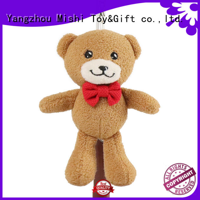 Mishi fast delivery plush toy keyring company for prasents