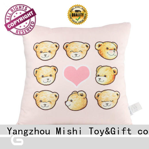 Mishi new plush cushions hand warmer for prasents