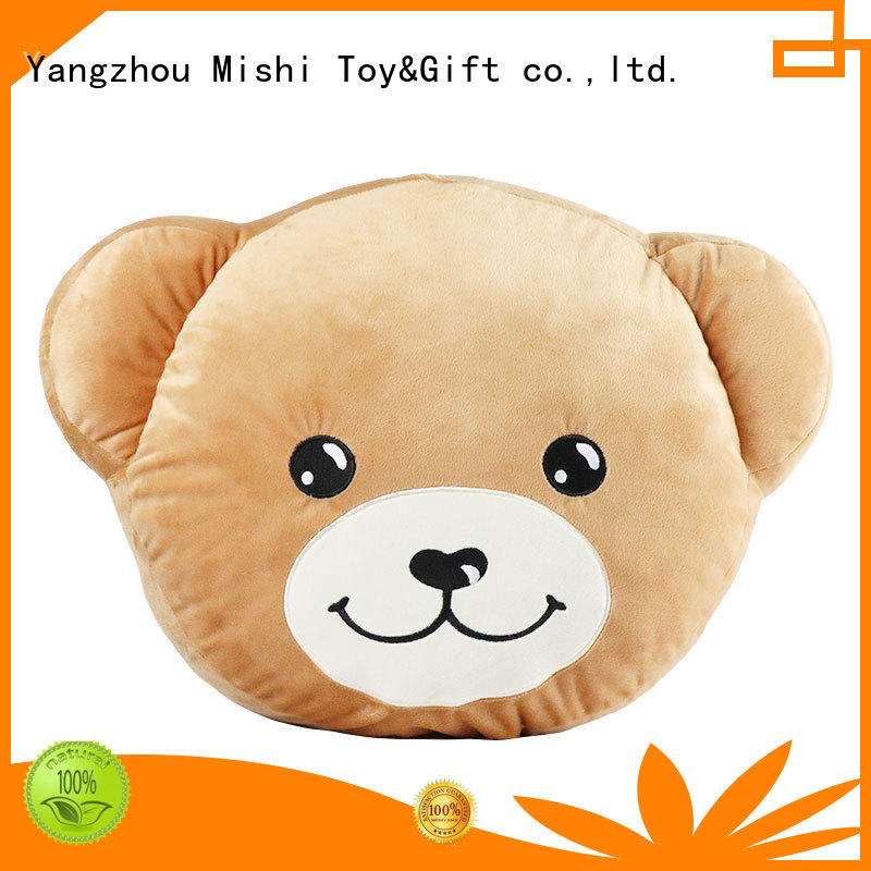 Mishi plush cushion covers company for gifts