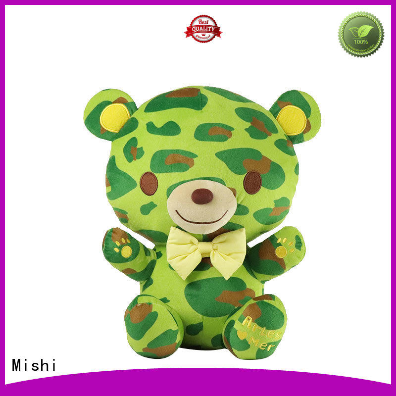 Mishi best plush toys with t shirts for kids