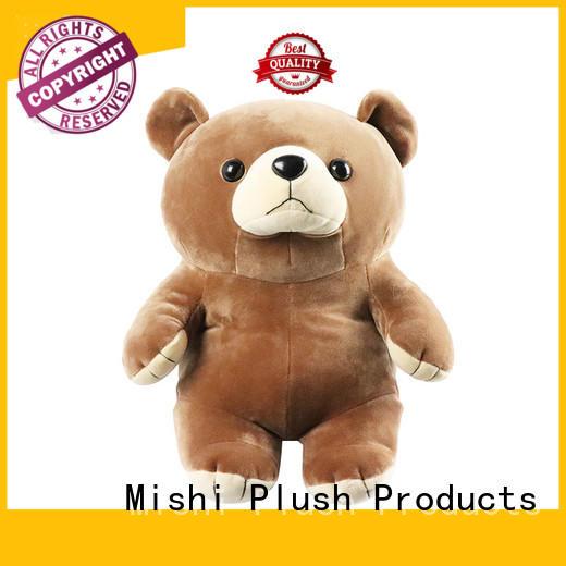 Mishi unique plush toys suppliers for sale