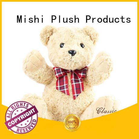 Mishi top custom plush toys suppliers for kids