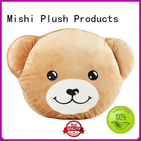 Mishi high-quality plush cushion covers manufacturers for gifts