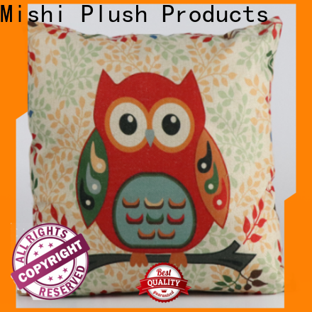 Mishi plush cushion covers company for presents