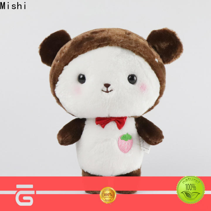 Mishi bulk plush toys manufacturers for gifts