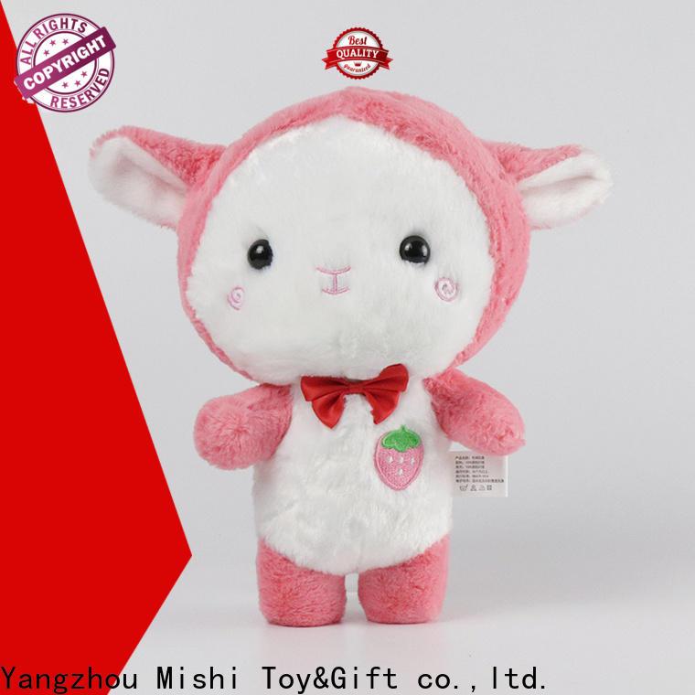 Mishi bulk plush toys with custom logo for sale