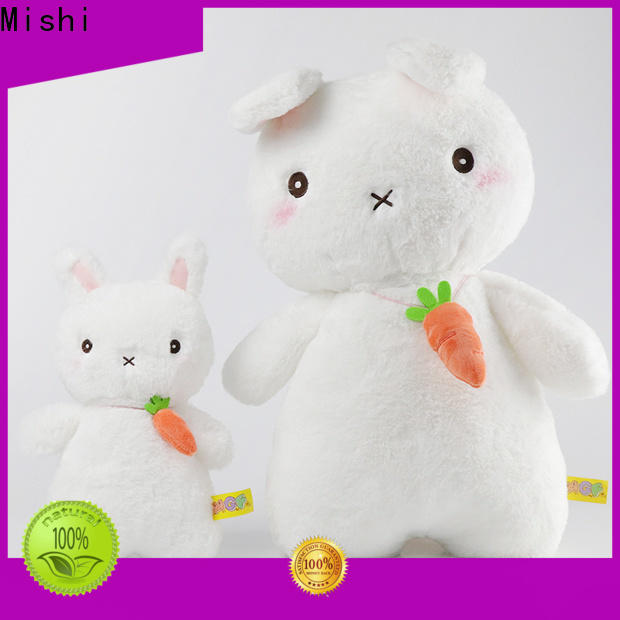 Mishi top cheap plush toys with hoodies for business