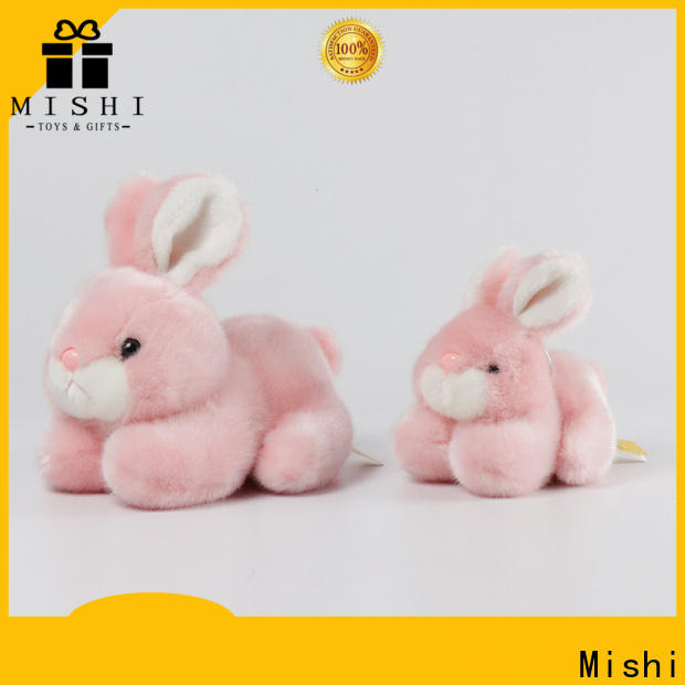 Mishi unique plush toys with hoodies for business