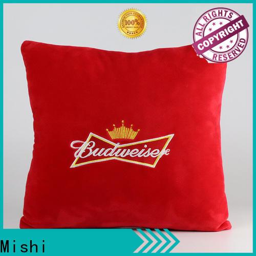 Mishi cartoon plush cushion factory for living room