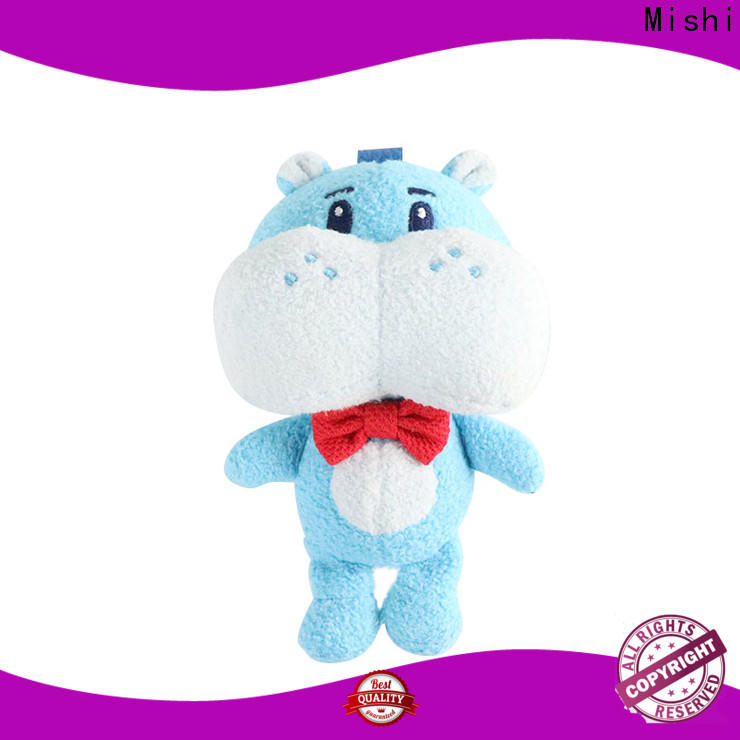 Mishi high-quality best plush toys with custom logo for gifts