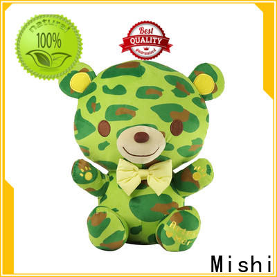 Mishi bull cheap plush toys with custom logo for gifts