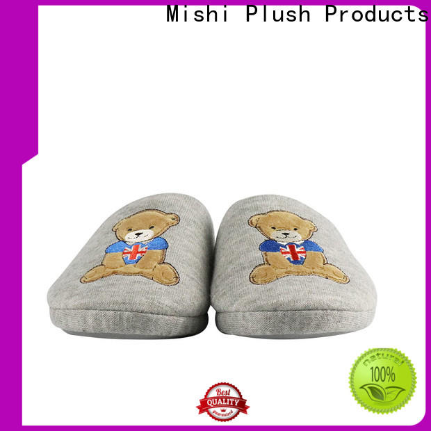 Mishi plush indoor slippers company for home