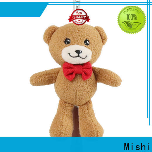 Mishi fast delivery plush keychain company for business